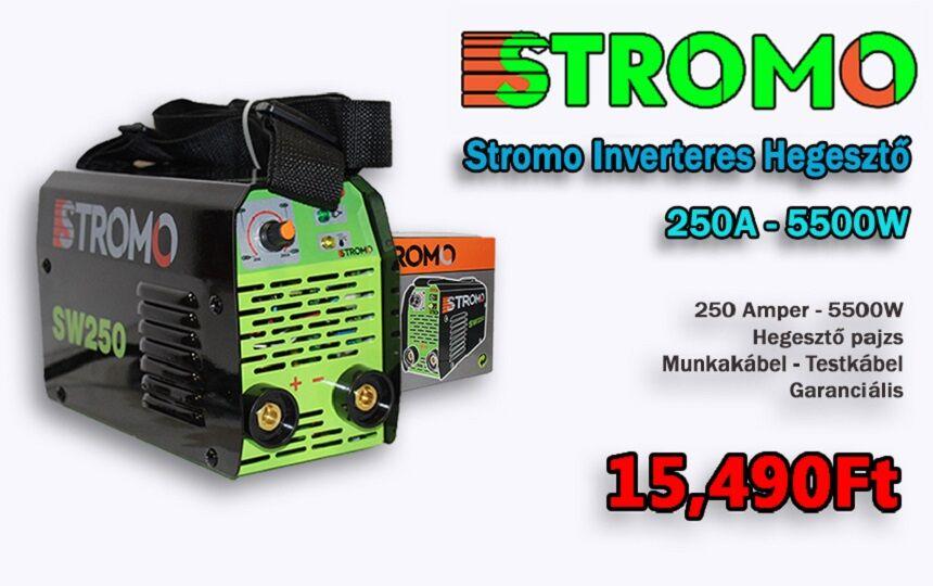 Stromo SW250 Inverteres Hegesztőgép 5500W