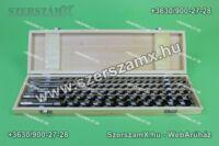Silver SL10472 Fafúró Lyúkmaró készlet 6db-os 230mm