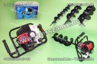 Straus ST/GD-44G-10/15/20/25 Földfúró 4,4Lóerő 52ccm + 100/150/200/250mm szár
