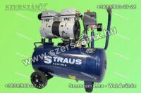 KrafTech HM6238 Néma Kompresszor 24Liter 550W