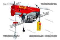 Boxer BX-561 Drótköteles Emelő 125/250kg 1500W