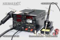 Yihua YH853DA SMD Forrasztóállómás 5-funkció 800W