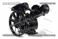 Black 2-Hengeres Kompresszor 2x65mm Fejegység