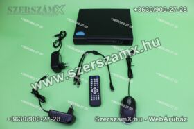 DVR H.264 4 kamerás Online éjjellátó térfigyelő kamera rendszer 320GB