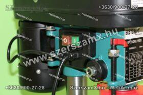 Haina HN1701 Oszlopos Fúrógép 1650W 16mm + Satu