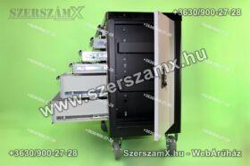 SKraftSW/NM658 Gurulós Szerszámoskocsi Szerszámokkal