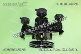 KraftDele KD1405 3-Hengeres Kompresszor 3x65mm
