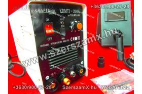 KraftDele KD822 Inverteres AWI Hegesztő 200A TIG/MMA