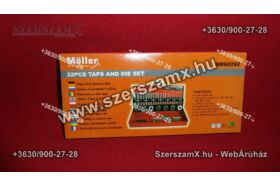 Möller MR60292 Menetmetsző és Menetfúró készlet 32db-os
