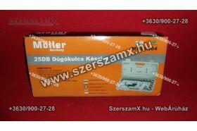 Möller MR60604 Krova Dúgokulcs készlet 24részes