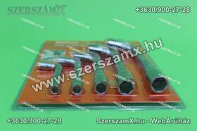Möller MR60835 L alakú Dugókulcs készlet 5részes