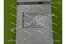 Möller MR70434 CVR Féltengely Gumiharang Bilincs Fogó Tömlőbilincs