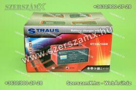 Straus ST/CA-10AB Tölő és Indító 55Amper 6V / 12V