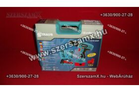 Straus  ST/CD12-209P Dupla Akús Fúrógép 12V 2-sebeség