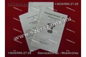 Straus ST/CD18-407 Lithium-ION Akús Fúrógép 18V 2-sebesség