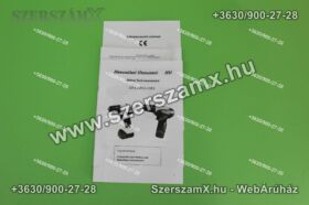 Straus ST/CDD12-15EL Lithium-ION Dupla Akús Fúrógép 12V