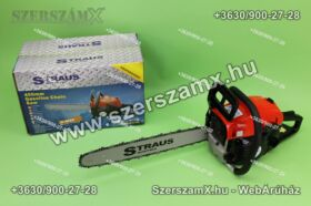 Straus ST-CHS2800G-010A 2,4Lóerős Láncfűrész 52cc