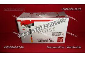 Straus ST/EH250-122 Drótköteles Emelő 250kg/500kg