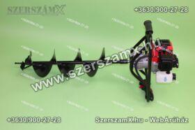 Straus ST/GD-17G-10/15/20 Földfúró 1,9Lóerő 45ccm + 100/150/200mm szár