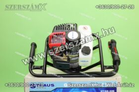Straus ST/GD-44G-10/20 Földfúró 3,0Lóerő 52ccm + 100/200mm szár