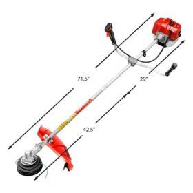 Beaukis Benzines Fűkasza 5,8Lóerős 52ccm 3in1 Bozótvágó Benzinmotoros Fű Kasza Bozót