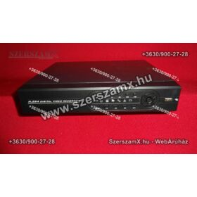 DVR H.264-8 kamerás éjjellátó térfigyelő kamera rendszer 320GB