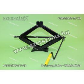Minőségi Trapéz Autó Emelő 1,5Tonnás 10cm - 40cm