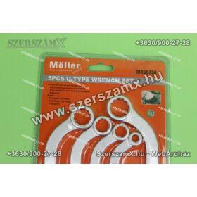 Möller MR60394 S-alakú Csillag kulcs készlet 5részes