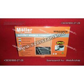 Möller  MR60826 Racsnis Csillag Villás kulcs készlet 6részes