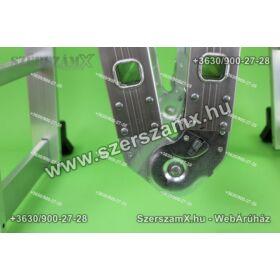 Möller MR70101 Alumínium Csuklós Létra 4részes 4x3 Álványos Univerzális