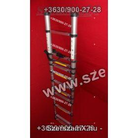 Möller MR70103 Alumínium Teleszkópos Létra 3,2m Kitolhatós 11fokos