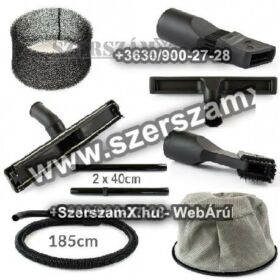 Powermat PM/OD-K30L Ipari Porszívó 1500W 30L INOX hordóval Gépi Új