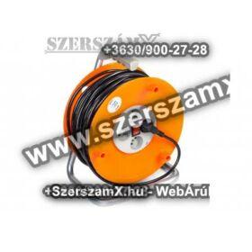Powermat  PM/PB-30-3-1,5 Kábel Hosszabbító 30méter 4db aljzat