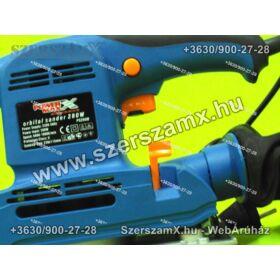 Straus Rezgőcsiszoló 135W 230x115mm Fordulatállítós Rezgő Csiszoló