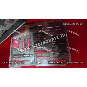 SKraft P-SW 186R 186db Racsnis Szerszámkészlet Kofferes