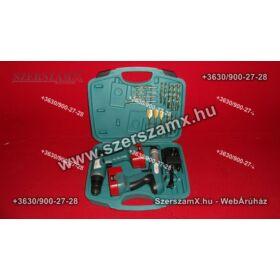 SKraft SWK071 2db Akkús Fúró és Ütvefúró 18V Fúrógép Akkumulátoros Ütve