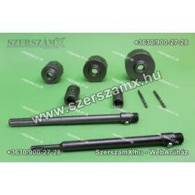 Silver SL 10334 Körkivágó Falhoz Betonhoz 9db-os készlet
