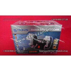 Straus ST/BG150-621 Kettős Köszörű 200W 150mm