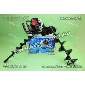 Straus ST/GD-44G-10/15 Földfúró 3,0Lóerő 52ccm + 100/150mm szár