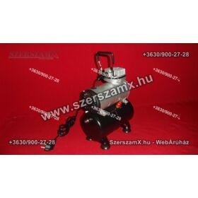 Straus ST/MACP-44B AirBrush Kompresszor Tartályos