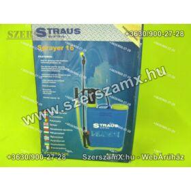 Straus ST/SPRA-16 16L  Háti Permetező 16Liter