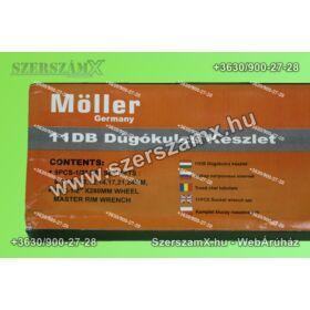 Möller MR60603 Dugókulcs készlet 11-részes