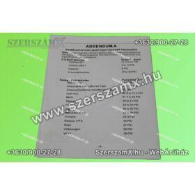 Silver SL10451 Benzin Nyomásmérő