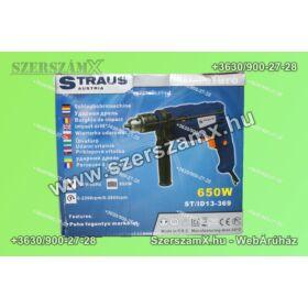 Straus ST/ID13-369 Ütvefúrógép 650W