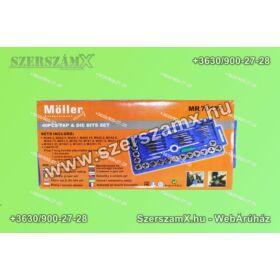 Möller MR70127 Menetmetsző készlet 40-részes