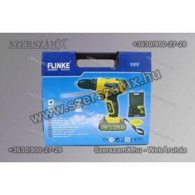 Flinke 18V Akkumulátoros Csavarozó Gép 2db Akkumulátorral