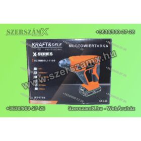 KraftDele KD1756 X-series Akús Fúrókalapács 18V