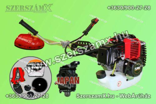 Flinke Benzinmotoros Bozótvágó RQ580 5,2Lóerő 10-Tartózékkal