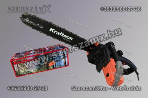 KrafTech KT/CHS-3200M Elektromos Fűrész 3200W - Szerszám Szerszam Szerszámok Szerszamok Barkacs Barkács Fűkasza Láncfűrész Bozótvágó Kertészet Gép Hegesztő Hegesztéstechnika