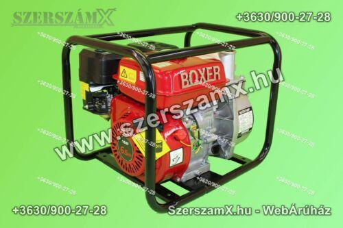 Boxer BX7015 Benzines 6,5Lóerős Szivattyú 1100L/perc - Szerszám Szerszam Szerszámok Szerszamok Barkacs Barkács Fűkasza Láncfűrész Bozótvágó Kertészet Gép Hegesztő Hegesztéstechnika